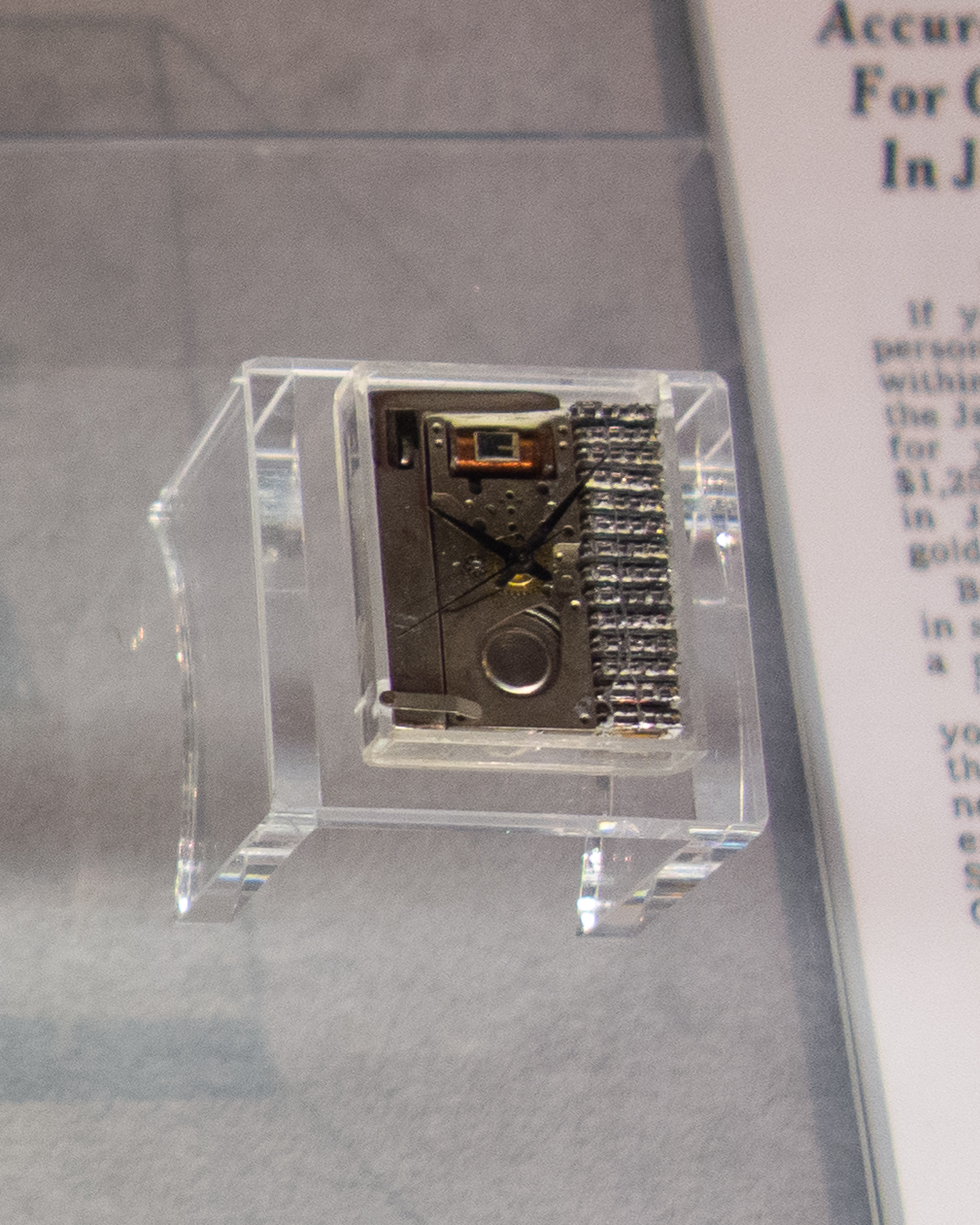 W-00x Wrist Chronometer