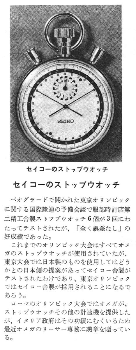 Horological International Correspondence, 1962