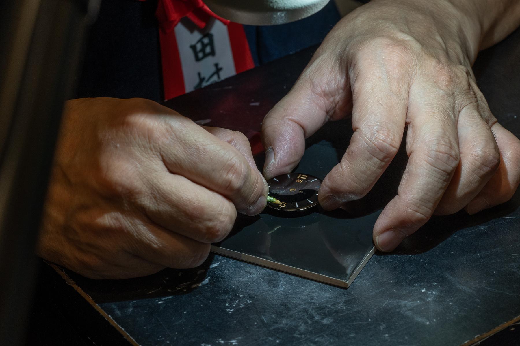 Polishing detail