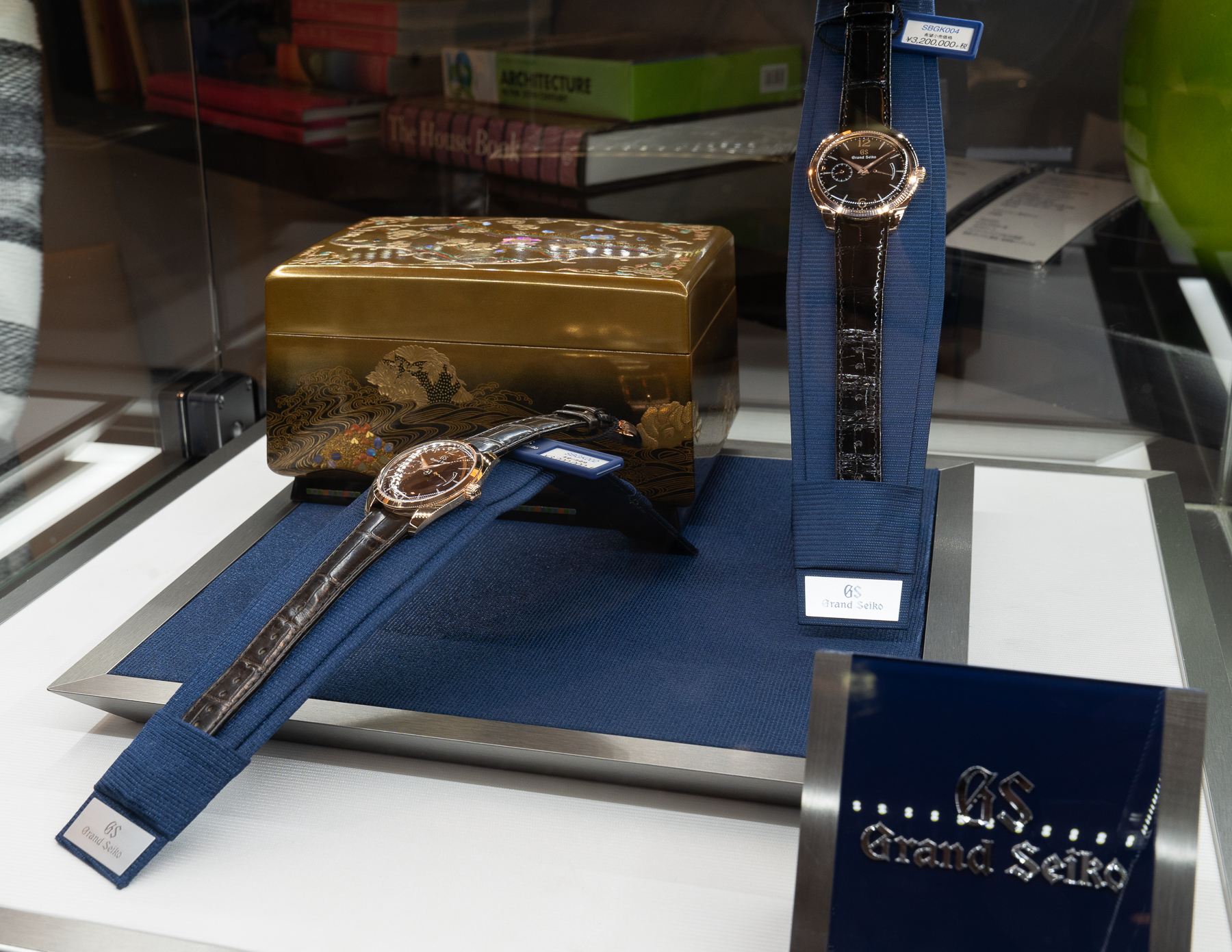 Jewelry Box and final GS models