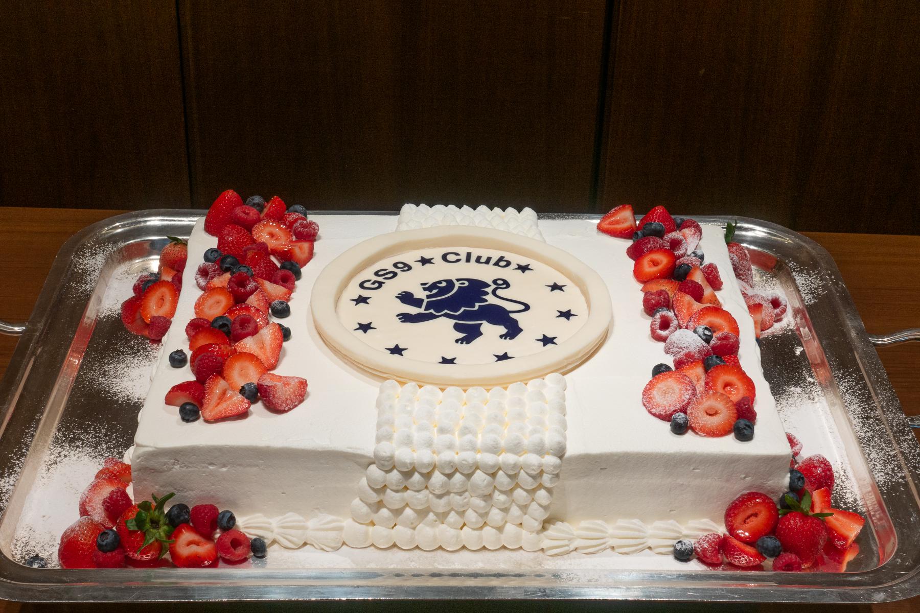 GS9 Club Logo Cake