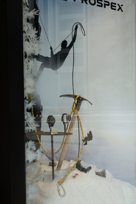 Ginza Prospex Boutique - Polar Exploration Display