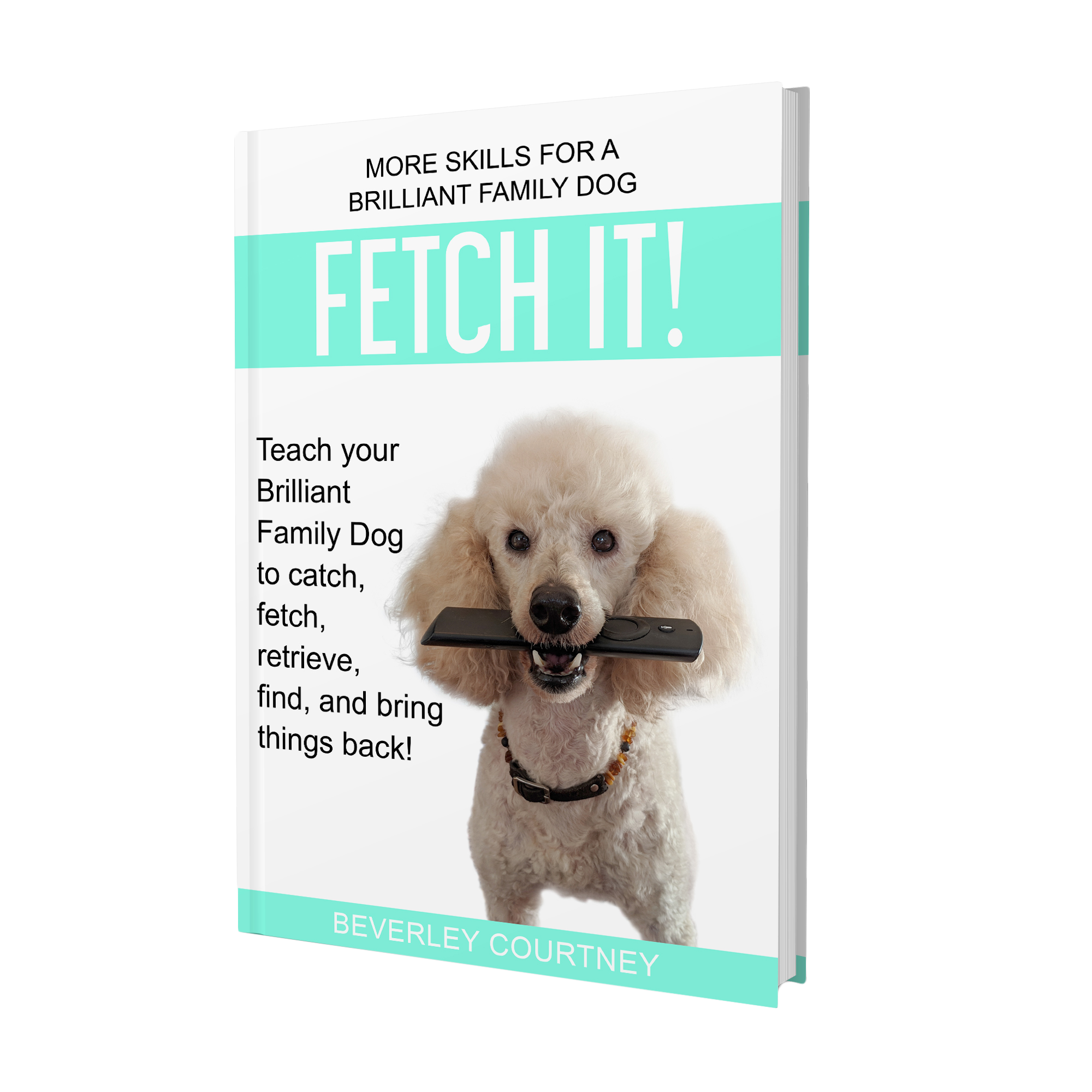 How to teach your Brilliant Family Dog to catch, fetch, retrieve, find, and bring things back! This new book gives you step-by-step instructions for a speedy retriever.