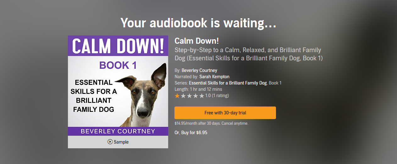 Audiobooks — Brilliant Family Dog