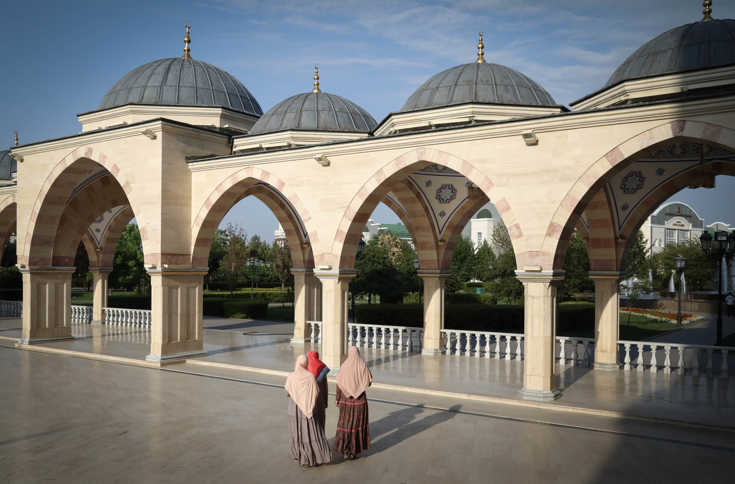 Veiled Women, Grozny, Chechnya.jpg