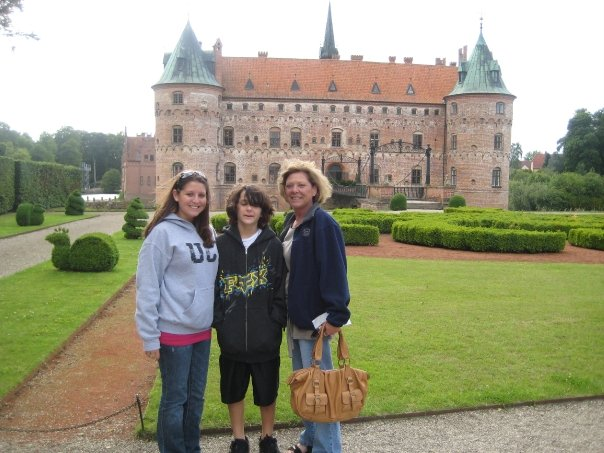 2008 Denmark Trip. I no longer wear flared jeans, my brother is a foot taller with a beard & my mom has a different hair color.