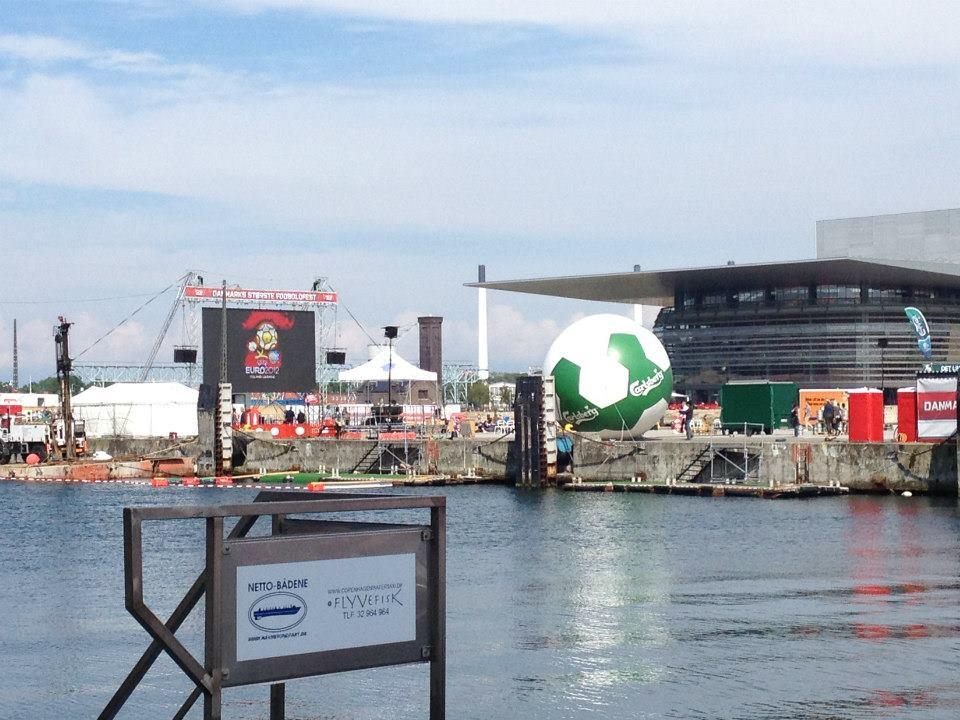 Copenhagen 2012 Euro Cup Viewing