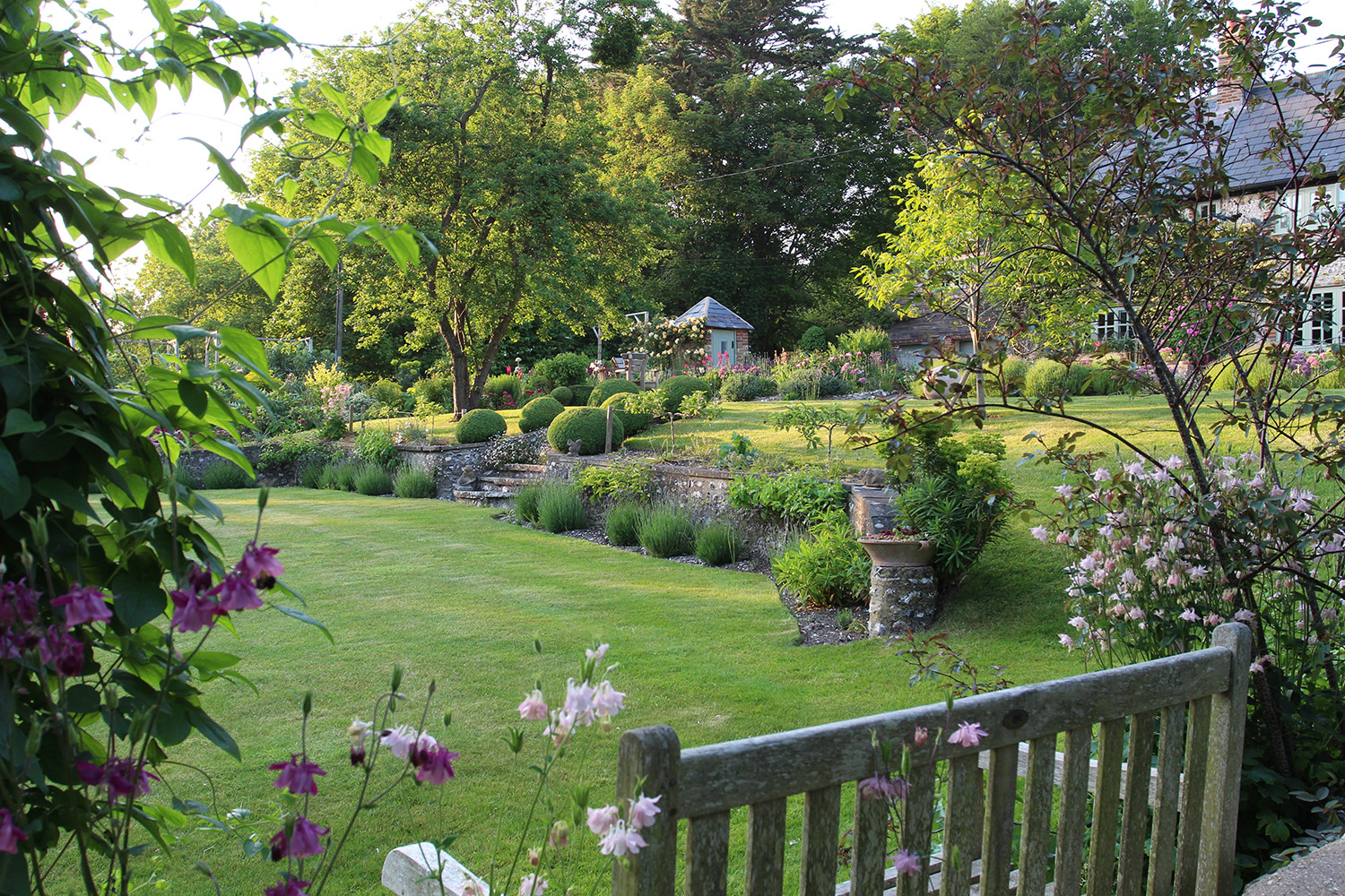 The Long House Garden