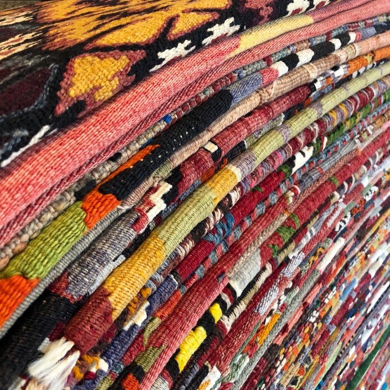 Kilim Pile of Rugs runners.jpg