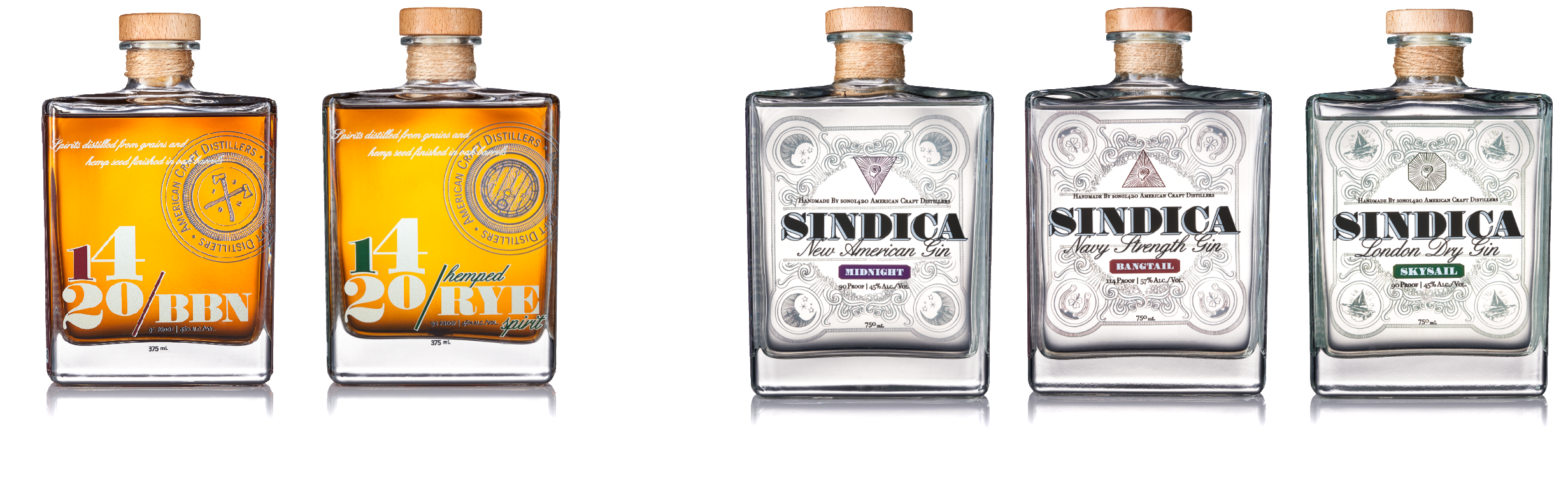 2 whisky 3 gin 2400 x 610 v2.png sono 1420 gin whiskey hemp whisky sativa indica bangtail midnight skysail