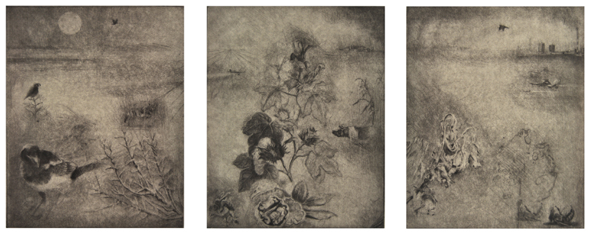SLOW DRIFT (Triptych)