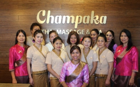 Champaka Thai massage therapists use deep relaxation and feel young again using massage therapy