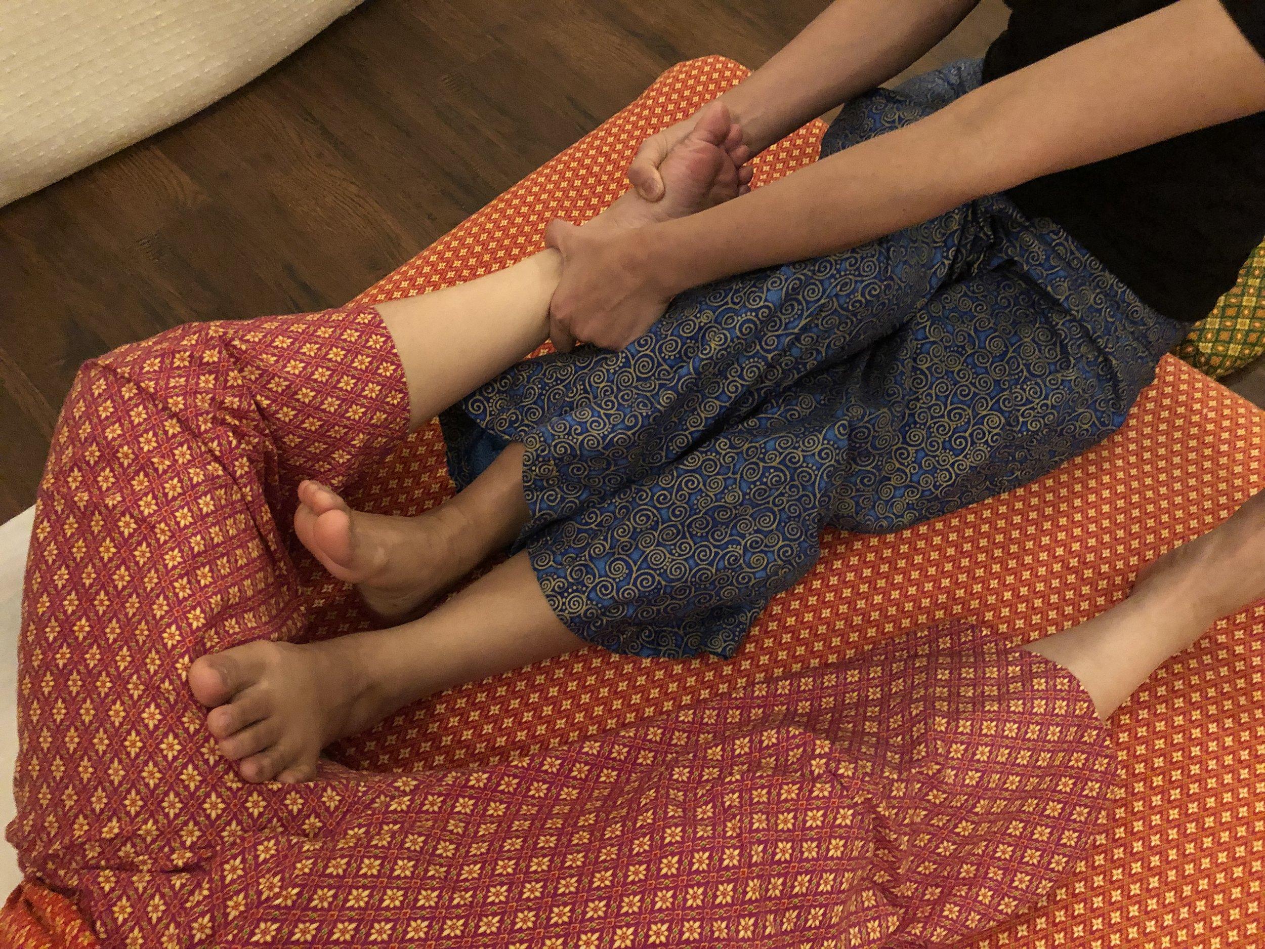 The story of Lamai's feet