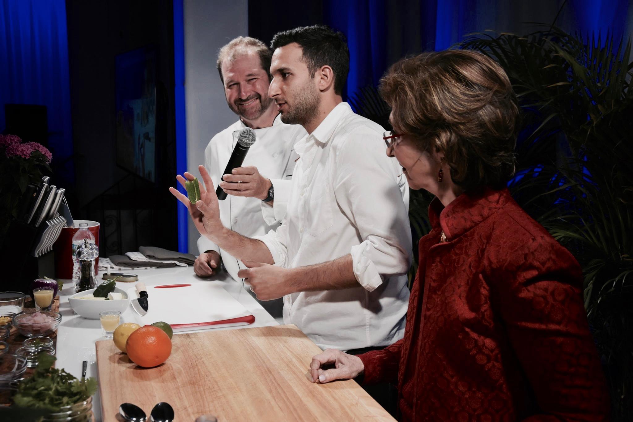 Allen Susser, Chef Sam Gorenstein & Linda Gassenheimer