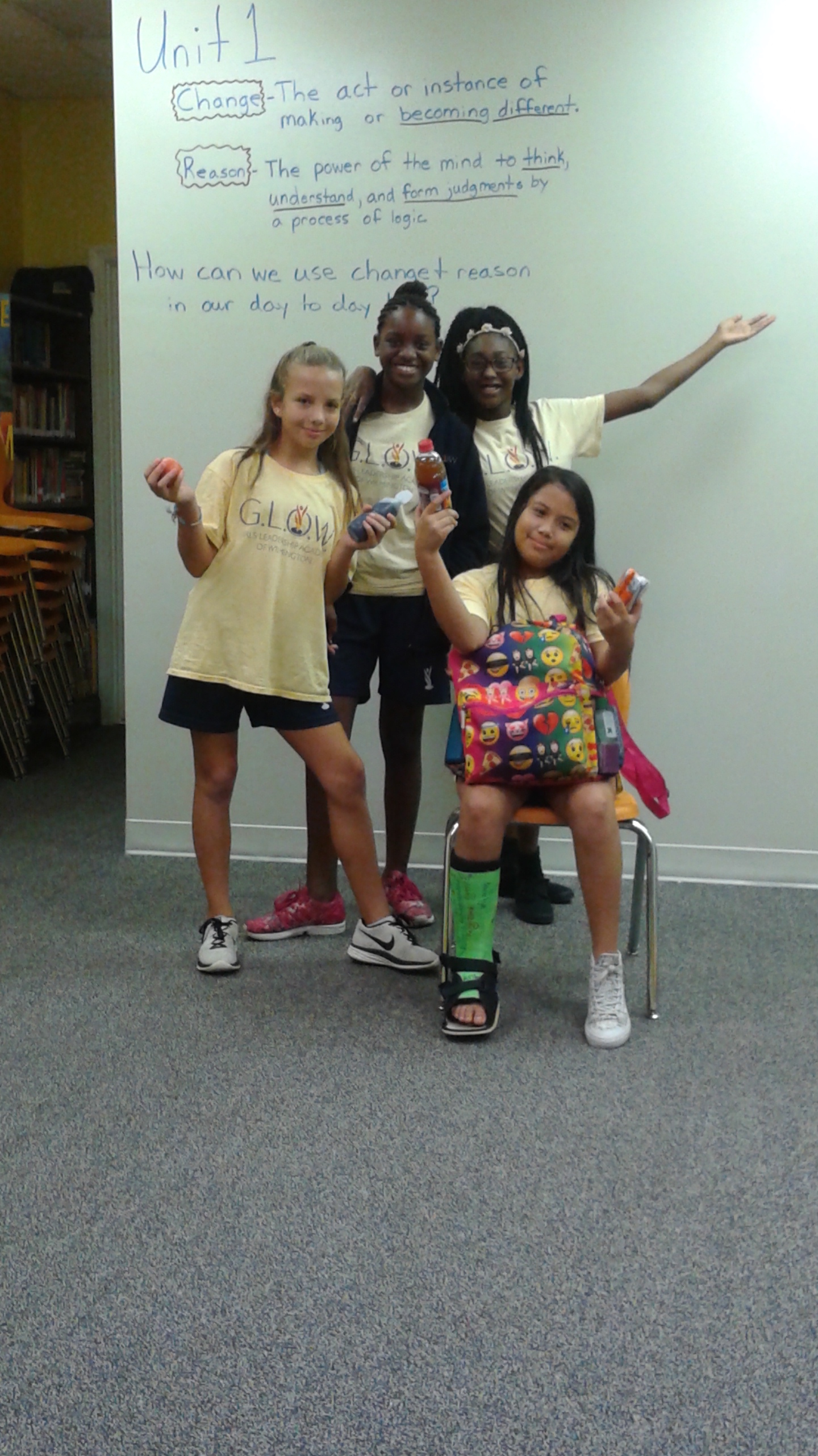 Thalian Association GLOW school project  provides funding for arts based classes.