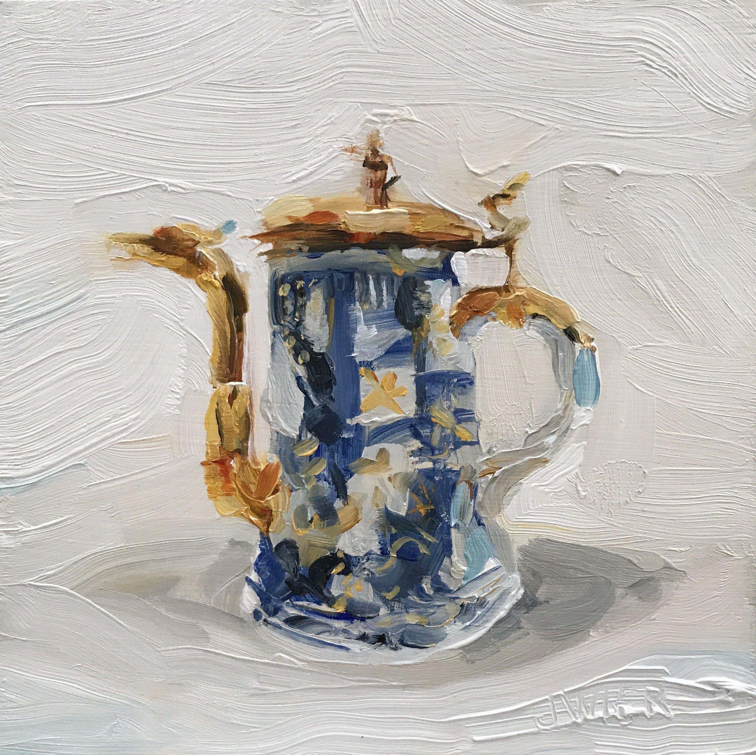 Canton Coffeepot