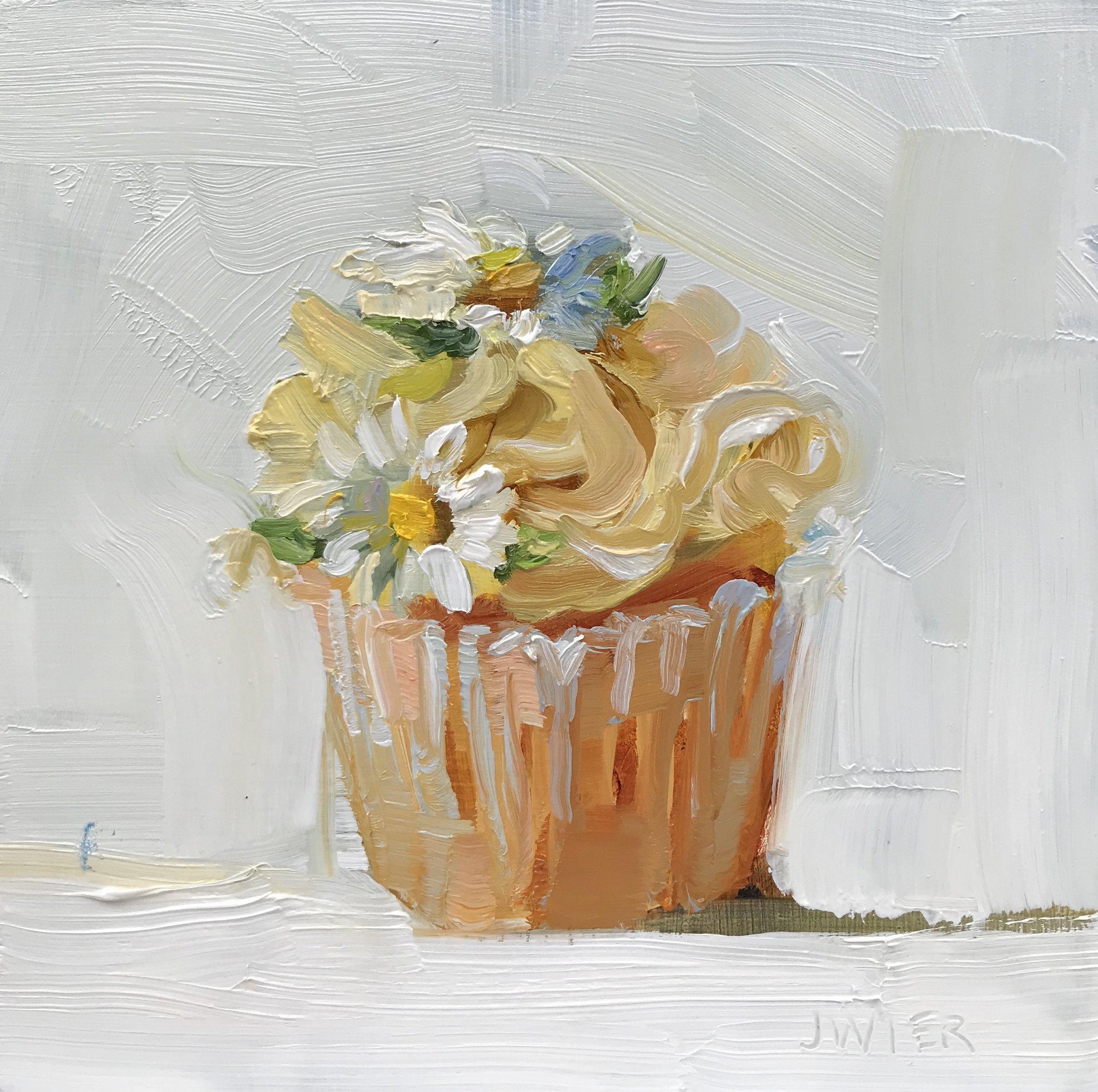 Daisy Cupcake I