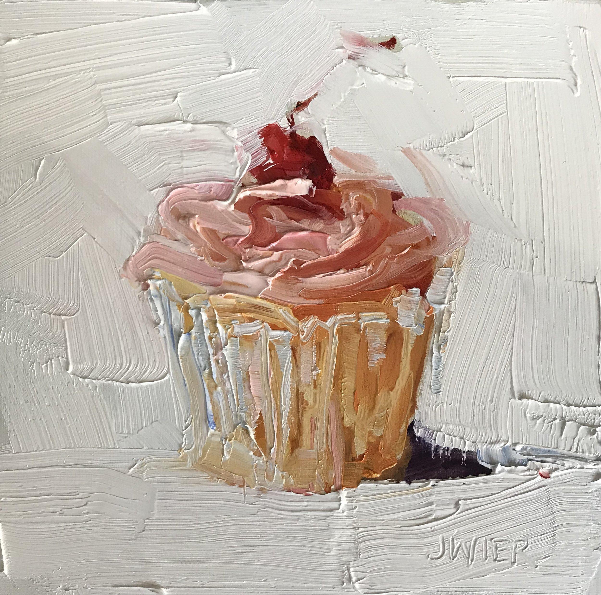Classic Cherry Cupcake