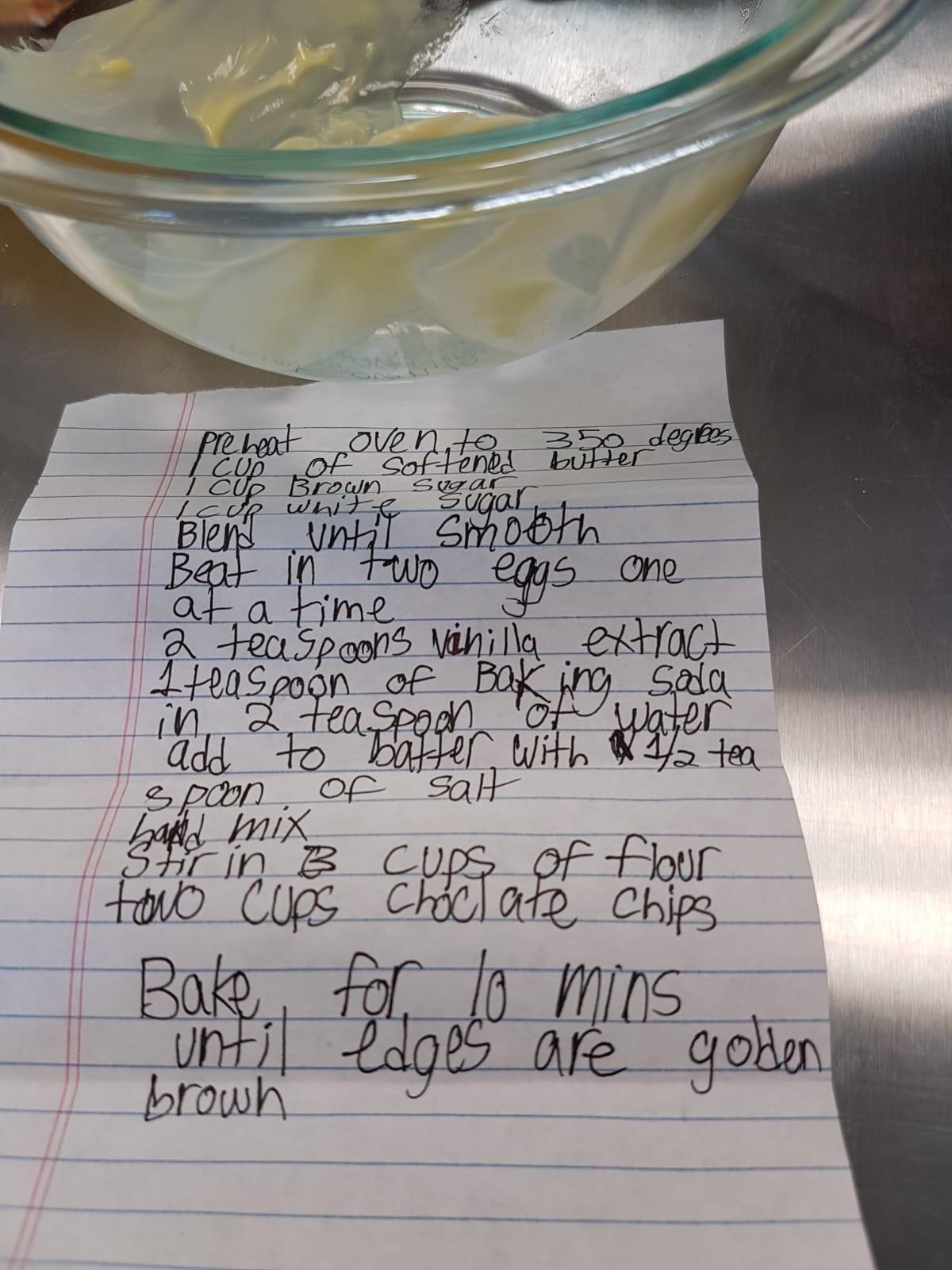 Daniel's hand written recipe.jpeg