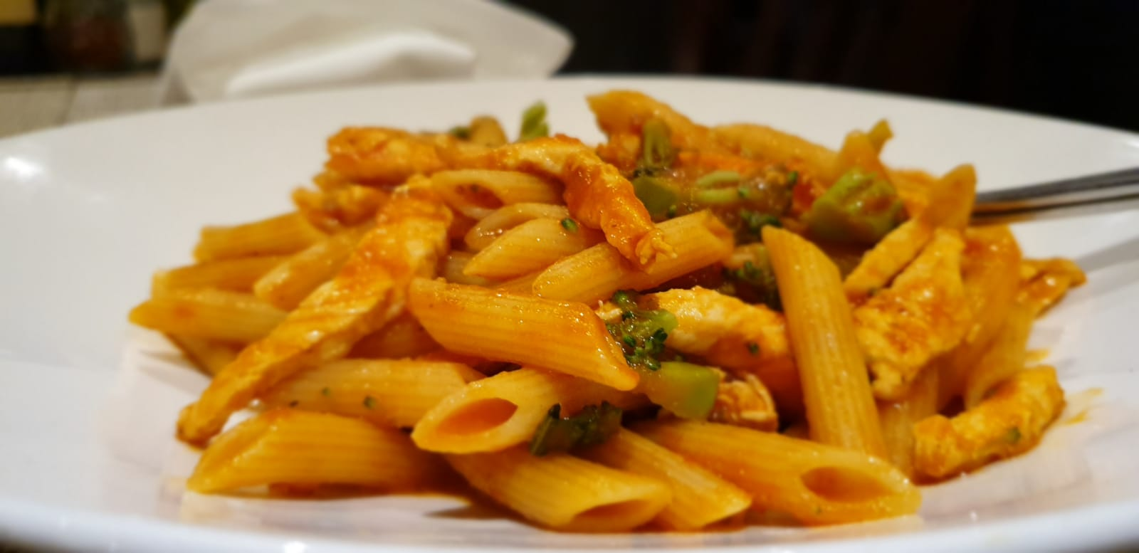 Chicken Penne with Vegetables