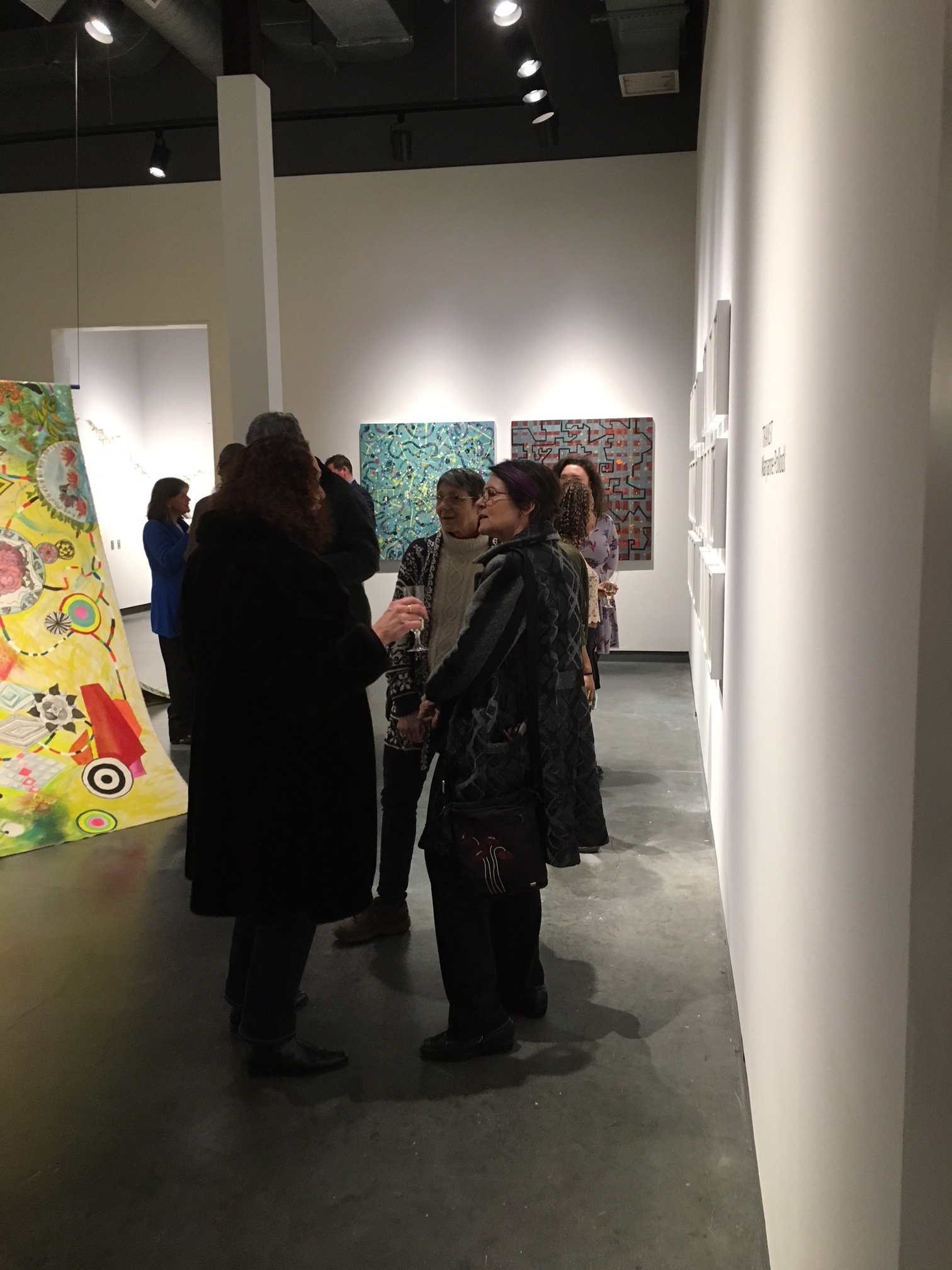 Opening reception for  Transit