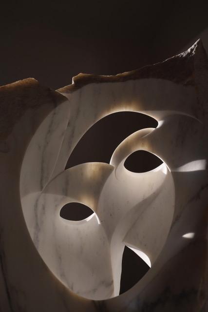 Luminosity in stone: 'Synchronous Light Chamber.' (Image courtesy of Rick Rothrock.)