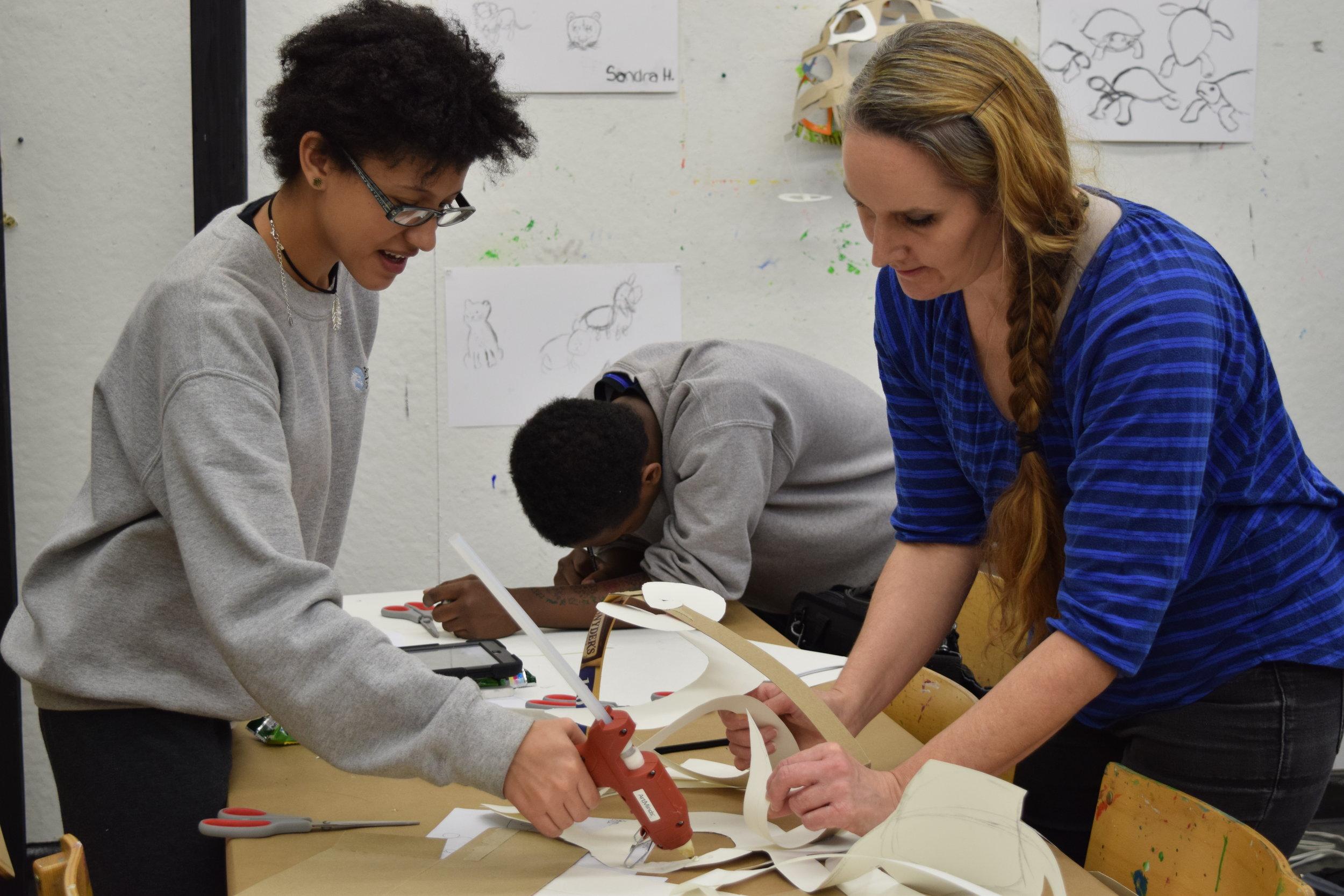 artists AND teachers