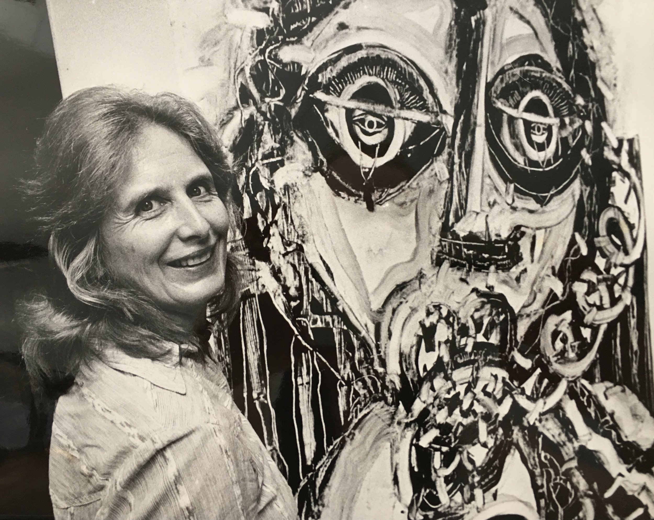 Margo Allman, circa 1980s, photo credit: Carson Zullinger