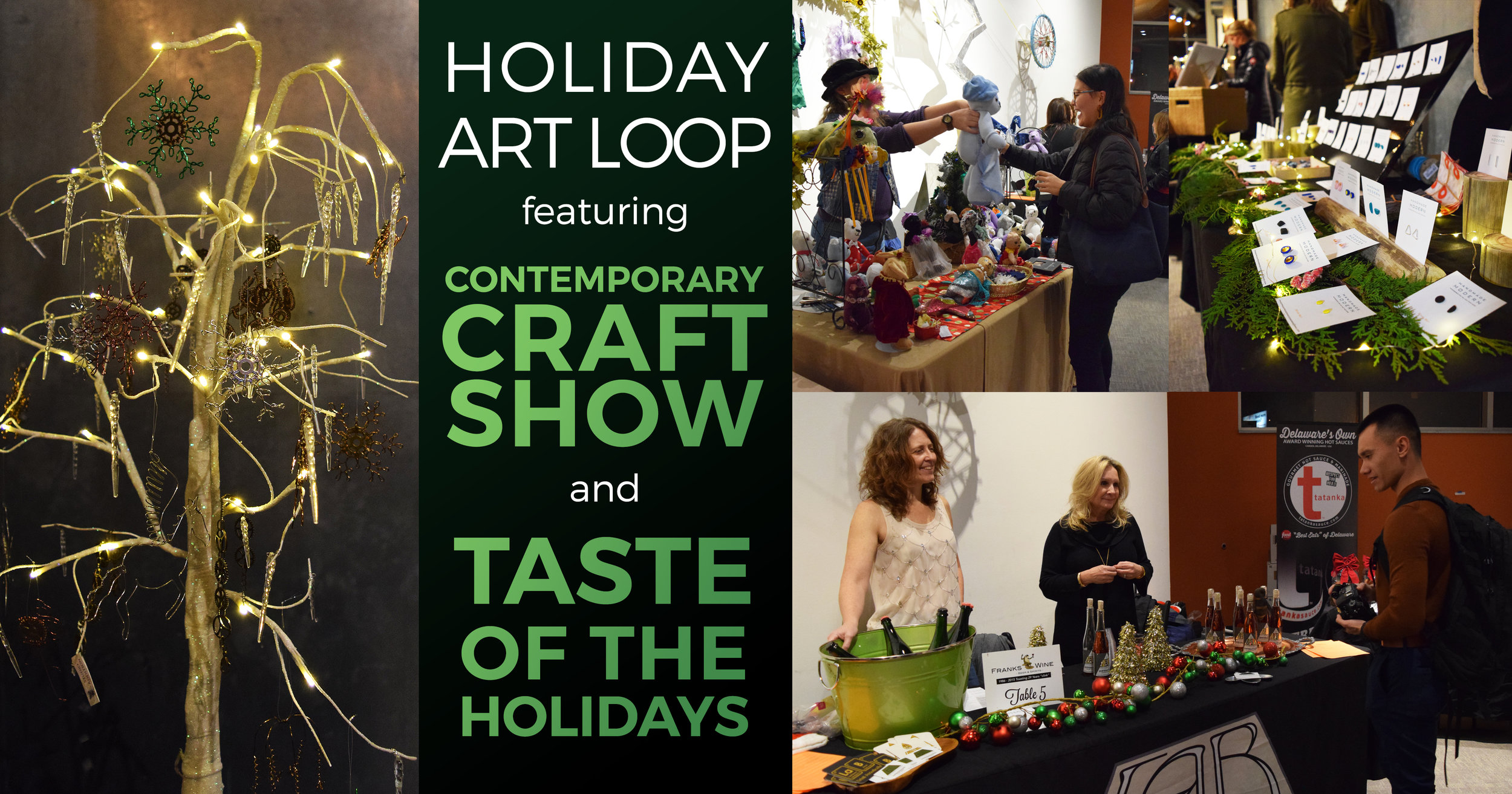 Images from 2018 Annual Craft Show & Taste of the Holidays  -  staff photos