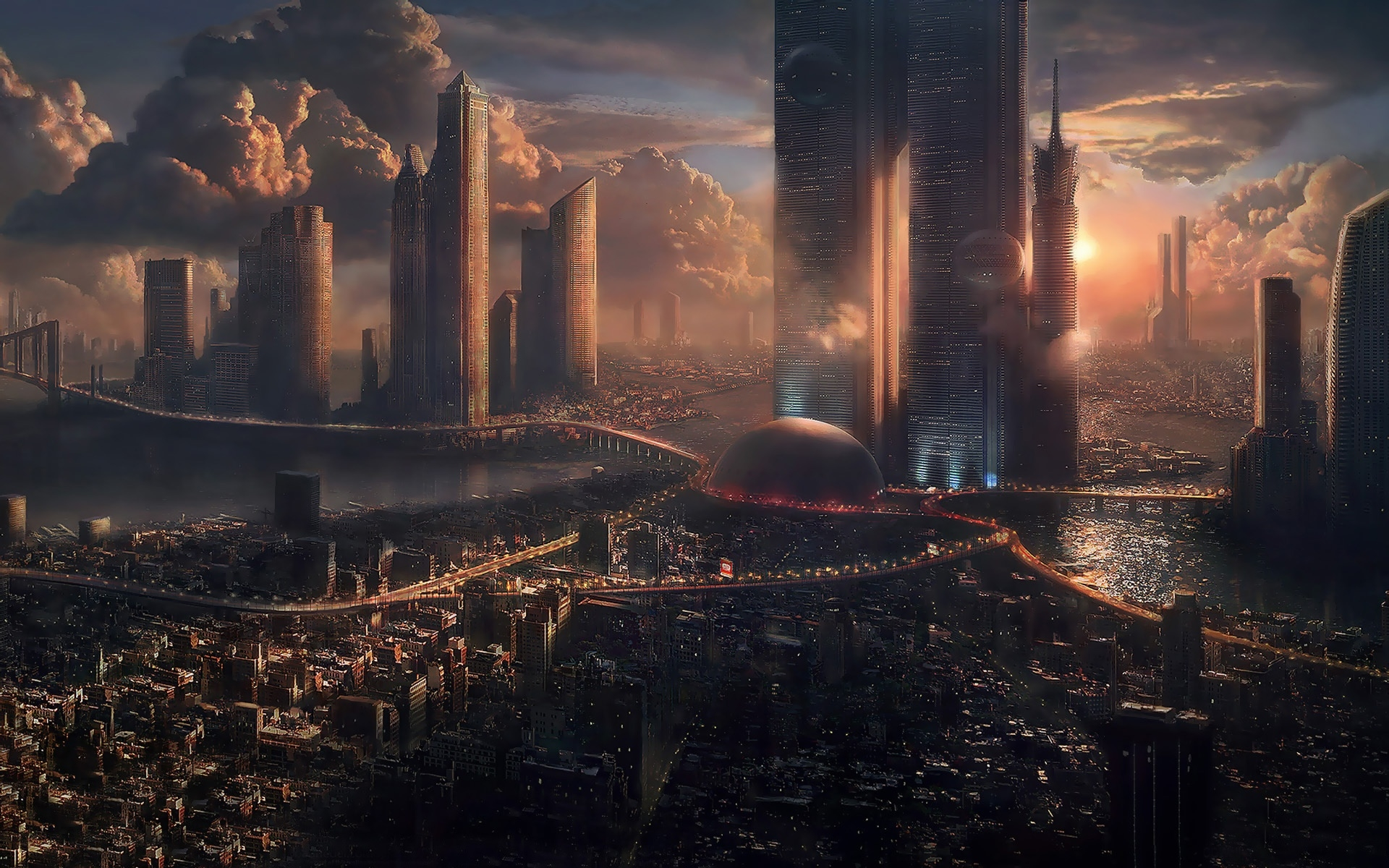 A Night in Coruscant — Anders Cahill