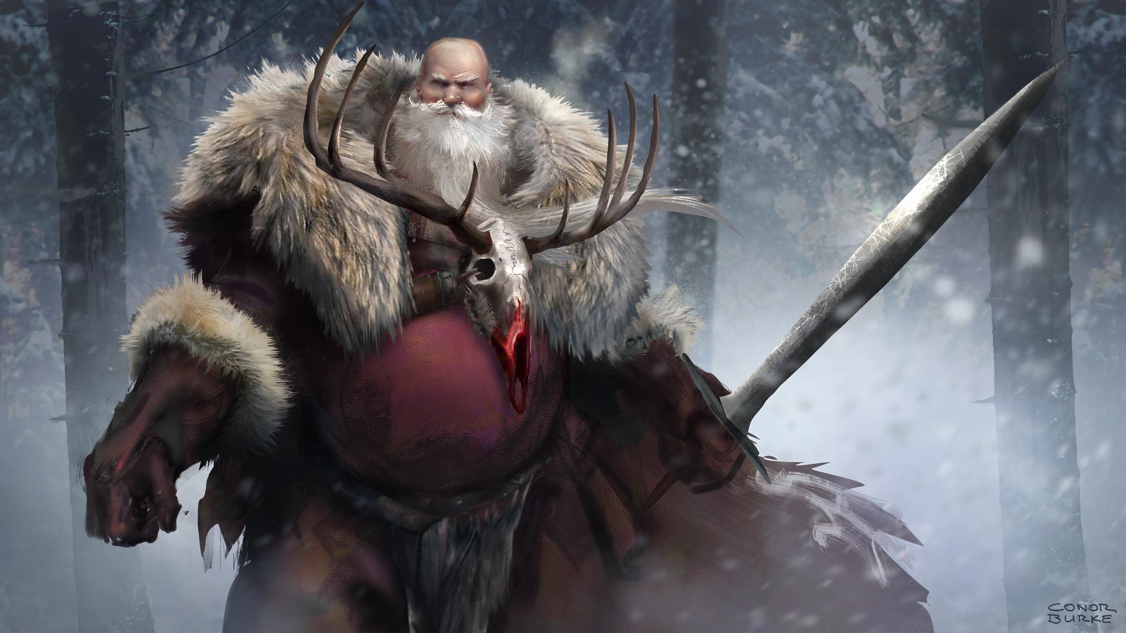 1387-santa-the-barbarian-conor-burke