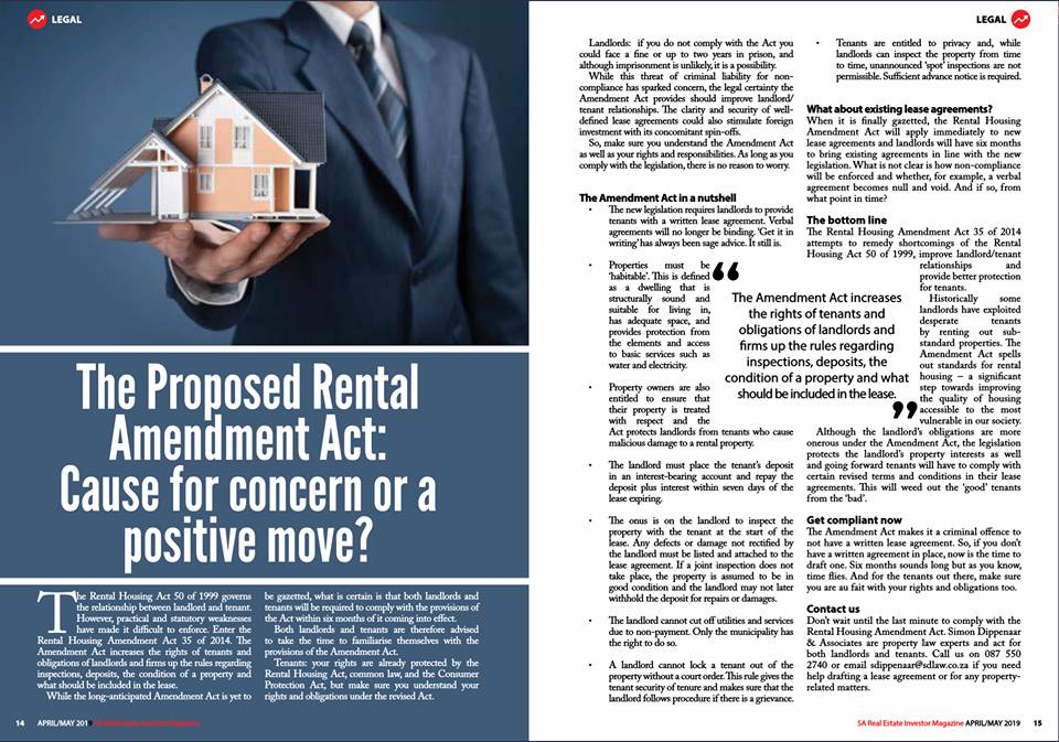 The Real Estate Investor Magazine April 2019