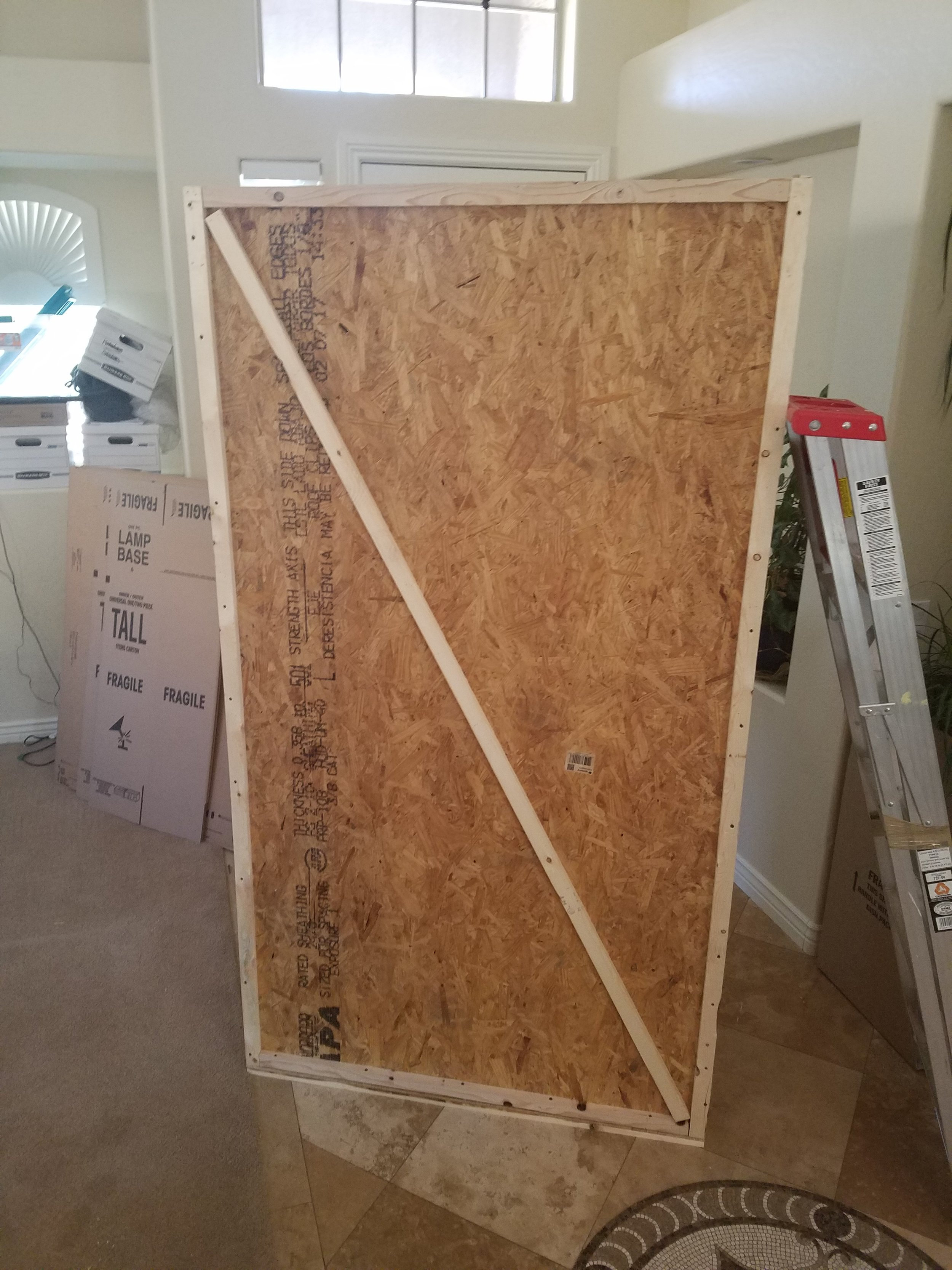 7 Foot Tall Crate