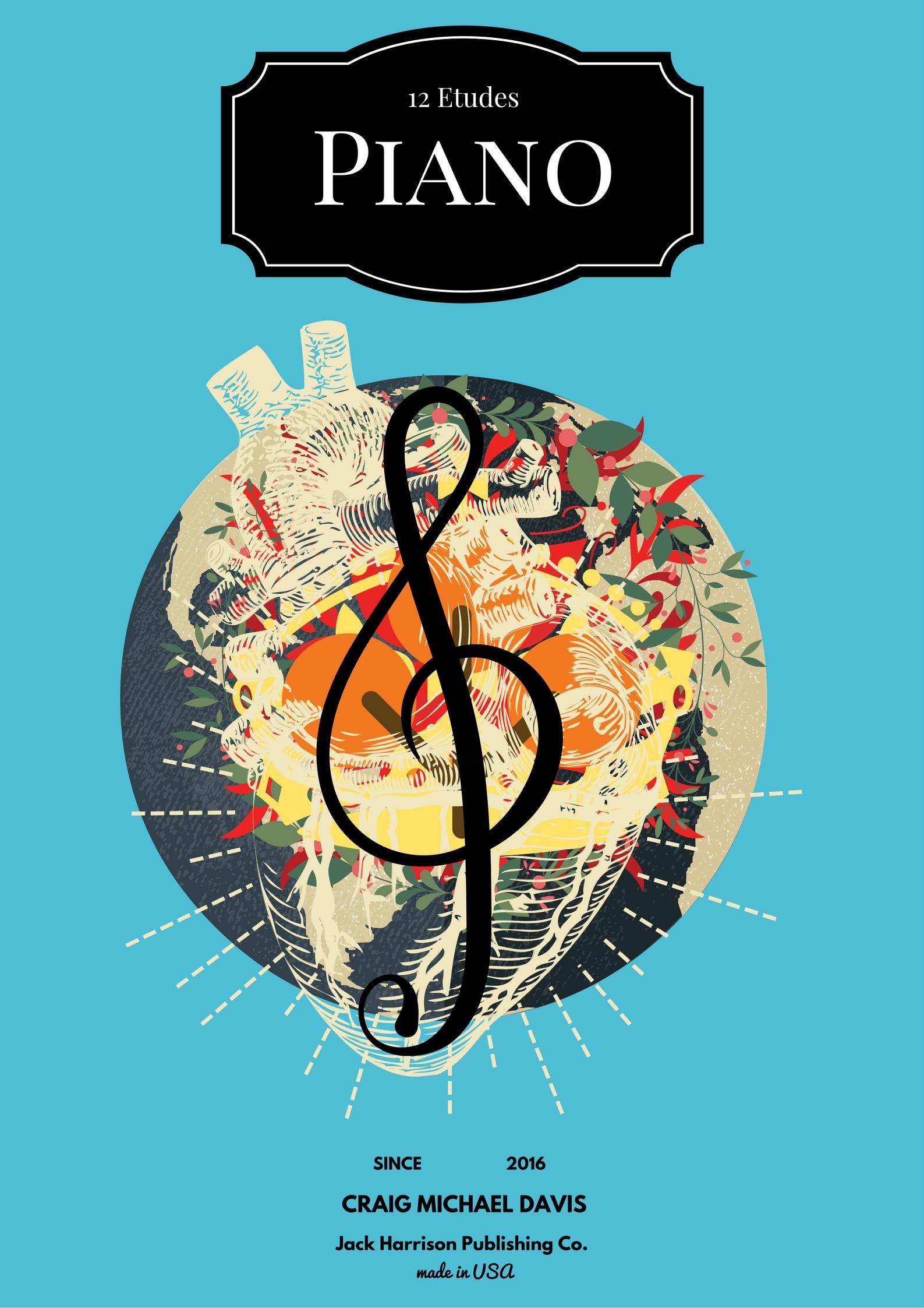 PIANO ETUDES COVER