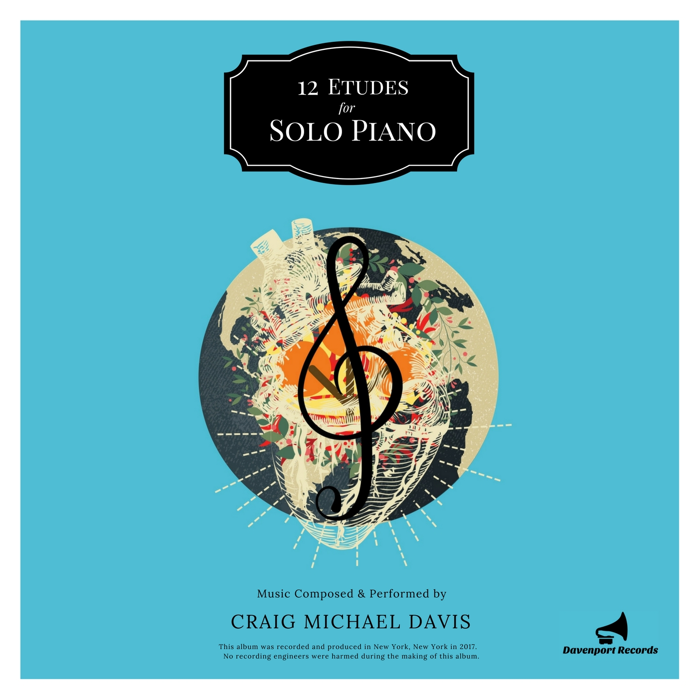 12 ETUDES for Solo Piano