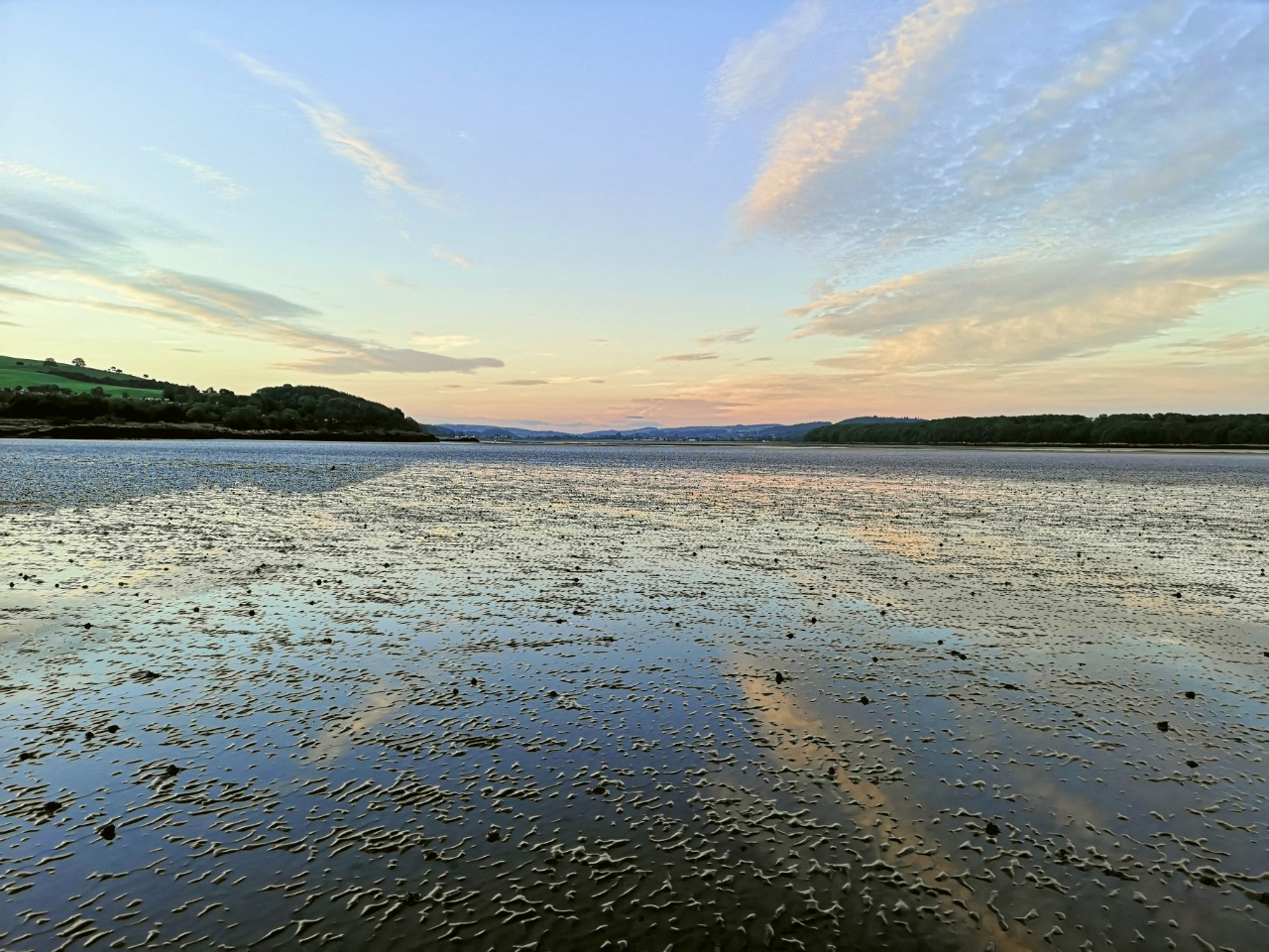 Dhoon Bay looking towards Kirkcudbright photo by Laura