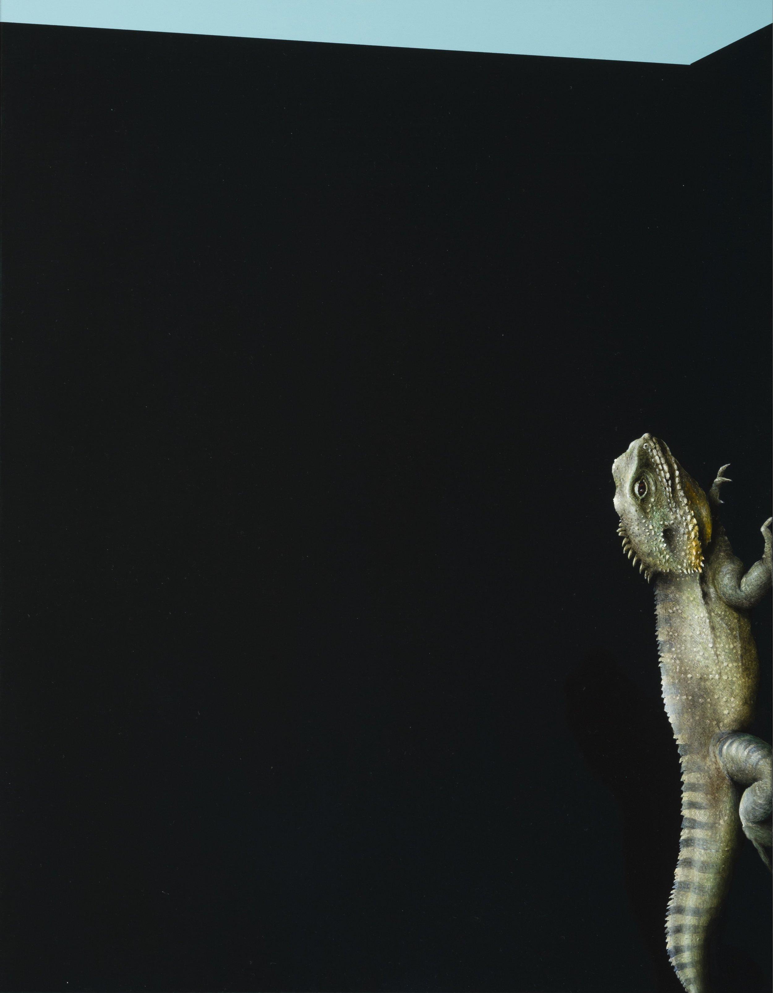 Jarek Wojcik, Spaces and Things 03 , 2015, acrylic on clayboard, 45 x 35cm