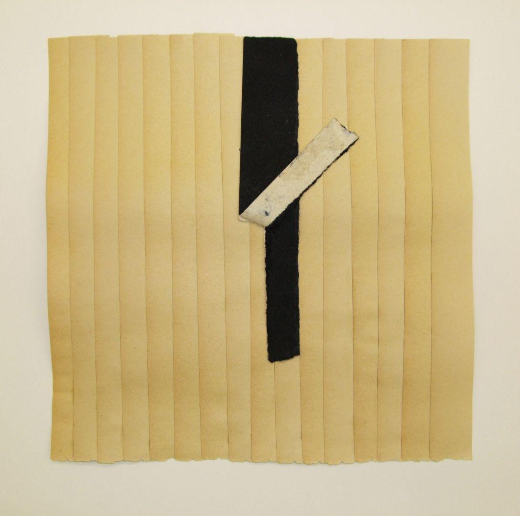 Sam Grigorian, Untitled , 2011, décollage, 19 x 19cm