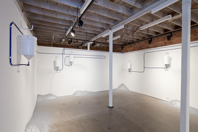 Michaela Gleave, Persistent Optimism , 2010, installation image