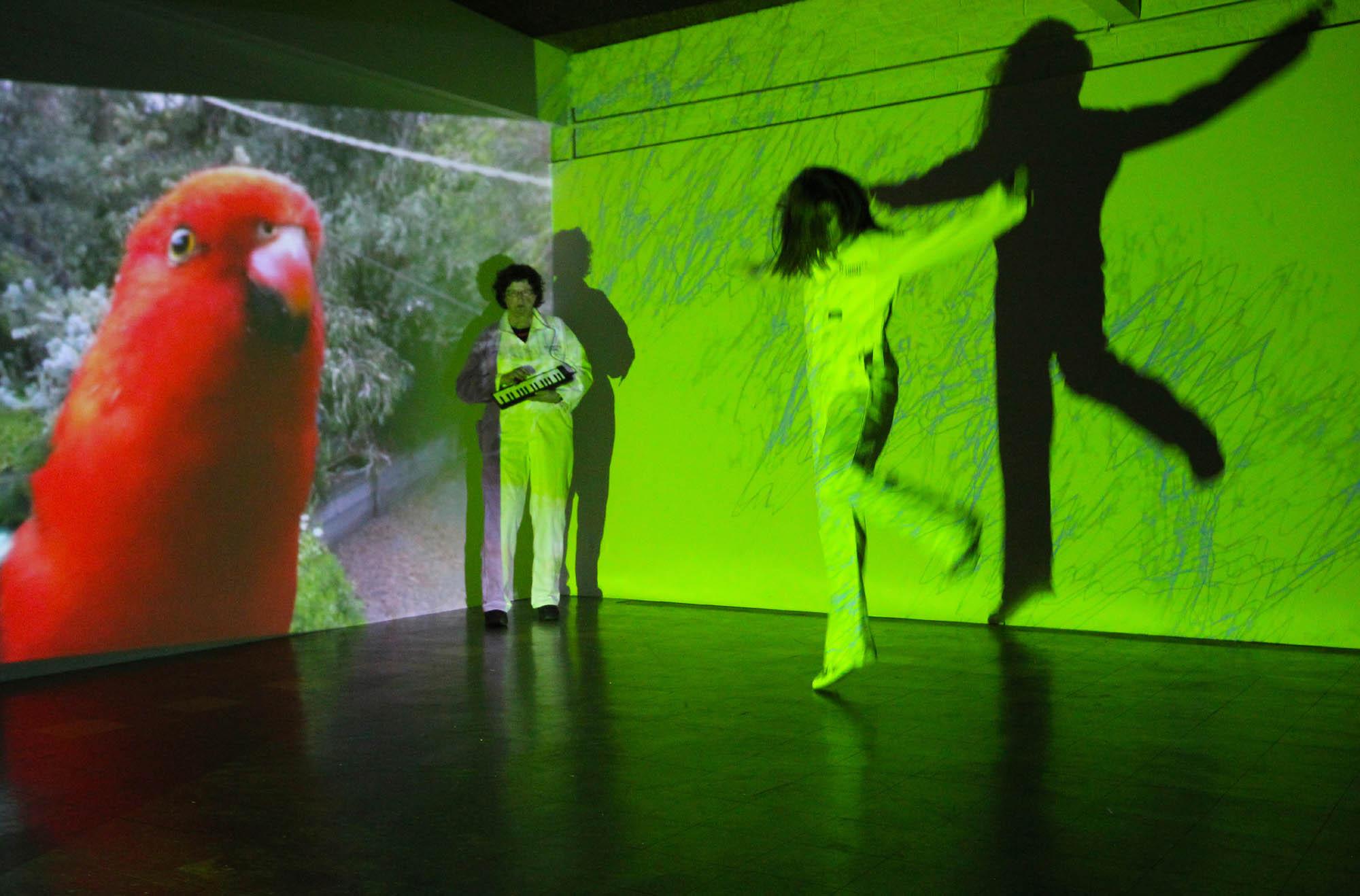 Sue Dodd and Kim Donaldson, Technopia Tours , 2013, performance
