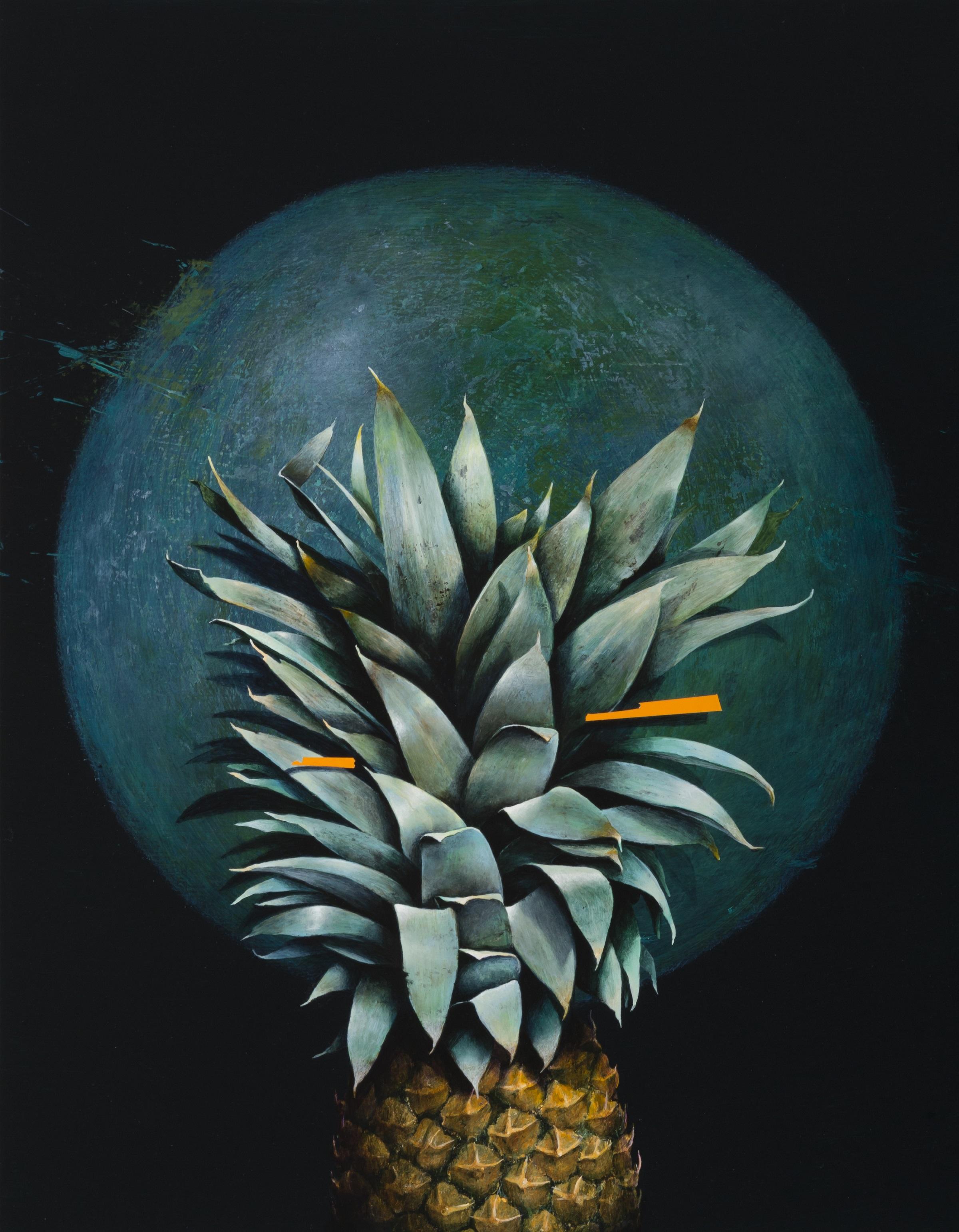 Jarek Wojcik, Spaces and Things 04 , 2015, acrylic on clayboard, 45 x 35cm