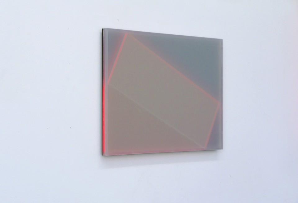 Karyn Taylor,  Shift , Perspex, 42 x 30 x 2cm