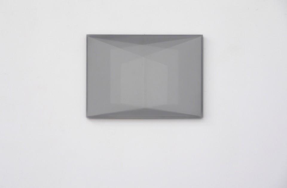 Karyn Taylor,  Untitled (Sol LeWitt) , 2015, Perspex, draughting film, 42 x 30 x 2cm