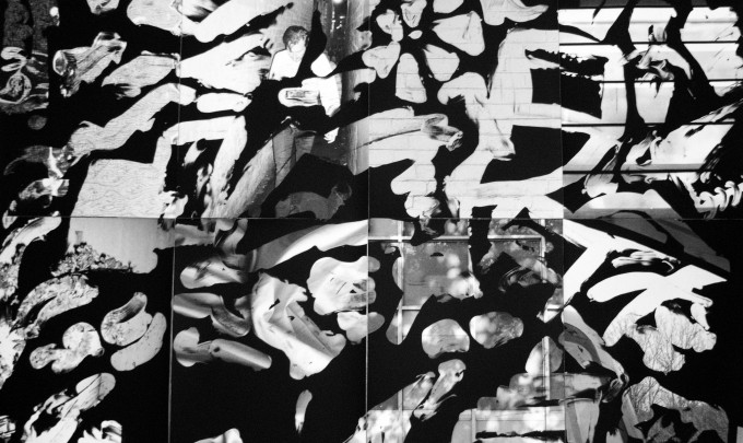 Benjamin Lichtenstein, It's like a brothel in here , 2015, unique state silver gelatin print, 84 x 119cm