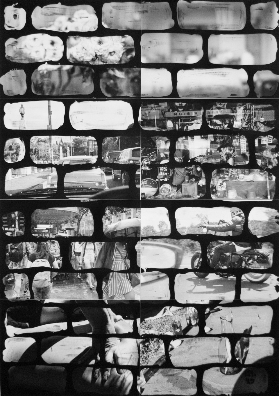 Benjamin Lichtenstein, Me and my low culture , 2015, unique state silver gelatin prints, 119 x 84cm