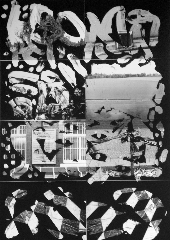 Benjamin Lichtenstein, You with me , 2015, unique state silver gelatin prints, 119 x 84cm