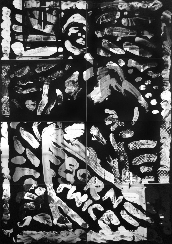 Benjamin Lichtenstein, Wolnizer soap dispenser , 2015, unique state silver gelatin prints, 119 x 84cm