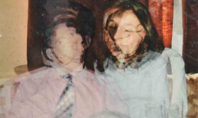 Elisabeth Weissensteiner, Marriage , 2014, photo based digital orint on canvas, polyester resin, polyurethane board, 120 x 120cm
