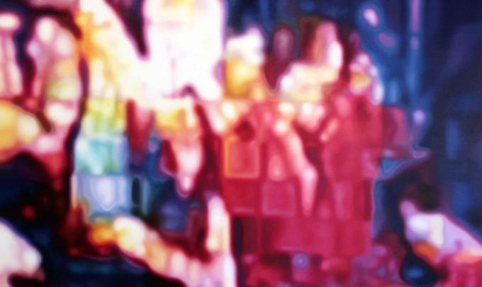 Stephen Giblett, Techno-Paranoia , 2013, oil on linen, 122 x 152cm