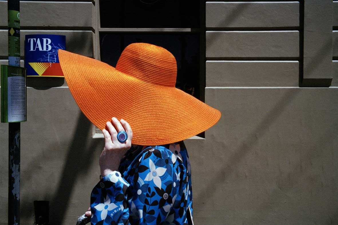 Jesse Marlow,  Big Hat , 2012, pure pigment print, edition of 10